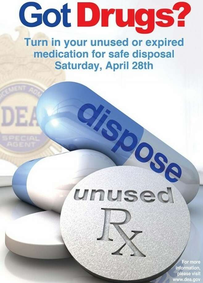 The Katy ISD Police Department will once again join forces with members from the Houston Drug Enforcement Administration during National Prescription Drug Take-Back Day to collect potentially dangerous expired, unused and unwanted prescription drugs. This initiative will take place on Saturday, April 28, in the lobby of the Katy ISD Law Enforcement Center located at 20370 Franz Road from 10 a.m. to 2 p.m. Photo: Katy ISD