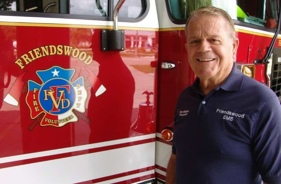 Van Williams recently retired from the Friendswood Volunteer Fire Department after 43 years. Photo: JEFF NEWPHER
