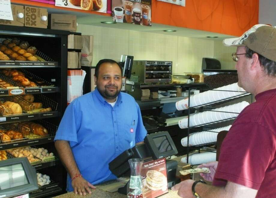Chetan Patel reopened the Dunkin Donuts in Bellaire last April. It had closed for months when the previous franchise owner wouldn't upgrade to the company's new standards.