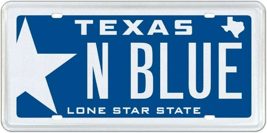"""Also available, the return of Texas """"blue"""" to boost the Texas Navy."""