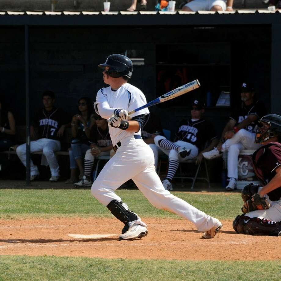 Who needs a pretty swing when you can make contact like G.R. Hinsley? The Clements senior hit .520 with nine home runs and 61 RBIs as the Rangers won their second straight district title and advanced to the regional semifinals. (Photo by Craig Moseley) Photo: By CRAIG MOSELEY
