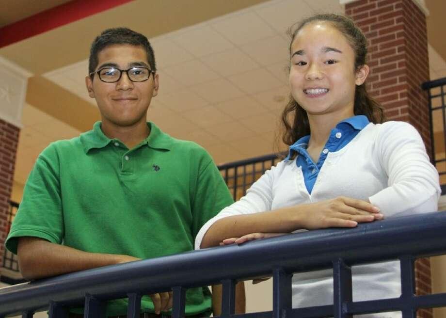 Dawson High School students Matthew Mendoza and Maegan Mendoza will represent their school as ambassadors for the Hugh O'Brian Youth leadership seminar this summer. Photo: Courtesy Pearland ISD