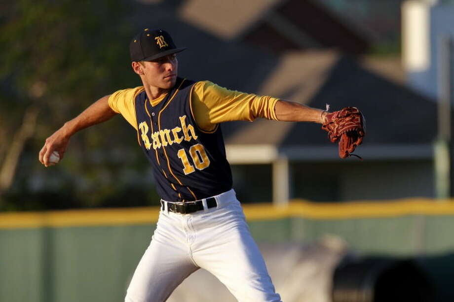Cy Ranch pitcher Corbin Martin helped his team to its 13th consecutive win on Friday night. Photo: KJWESPHOTOS.com