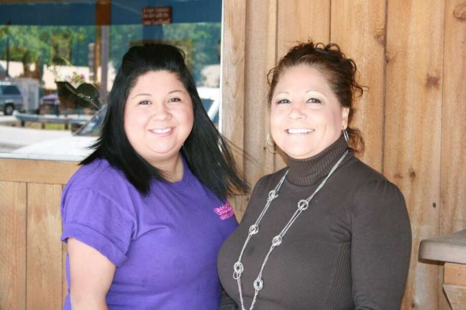 Stacy Bryan and mother Isabel Guillot spend most of their time at their family's restaurant, Coonican's. The restaurant features a combination of Mexican food and Cajun food and has become a local favorite. Photo: STEPHANIE BUCKNER