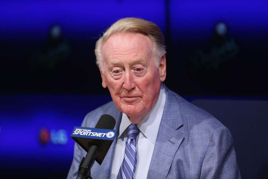 Vin Scully: 67 years is enough. Photo: Stephen Dunn, Getty Images
