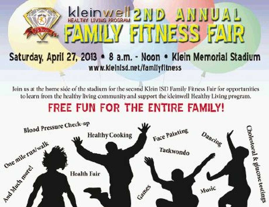 Klein ISD holds second annual Family Fitness Fair on April 27.