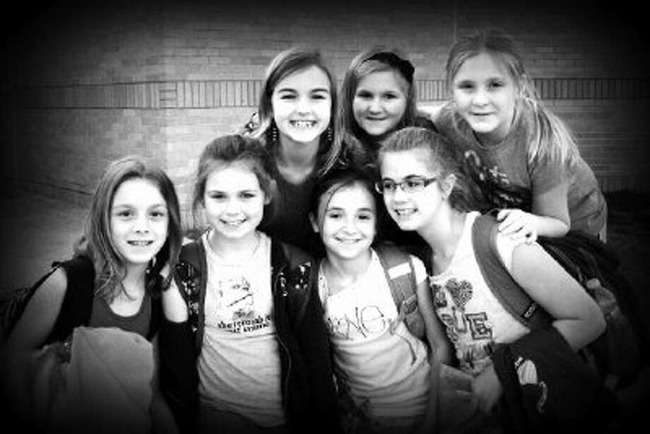 The In Disguise team is Callie Baker, Nicole Cage, Allie Clements, Adelaide Escott, Grace Judice, Savannah Neal and Jenna Smith. Photo: Picasa