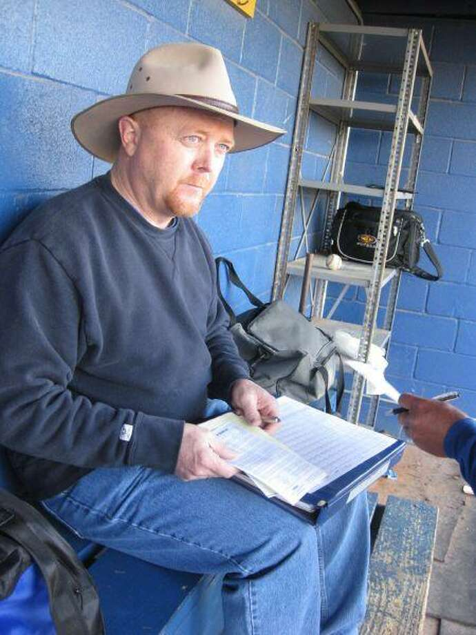 Randall Ray has volunteered with the Klein High baseball program since his son, Nathan, was a freshman at KHS in 1999-2000.