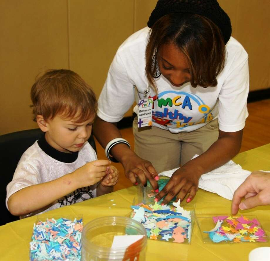 Hands-on arts and crafts will be part of the Weekley YMCA Healthy Family Day on April 28. Photo: Submitted Photo