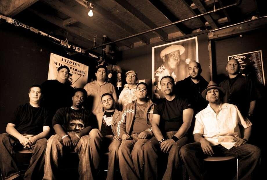 The Grammy-nominated Latin orchestra Groupo Fantasma kicks off a concert series at Discovery Green on May 3.