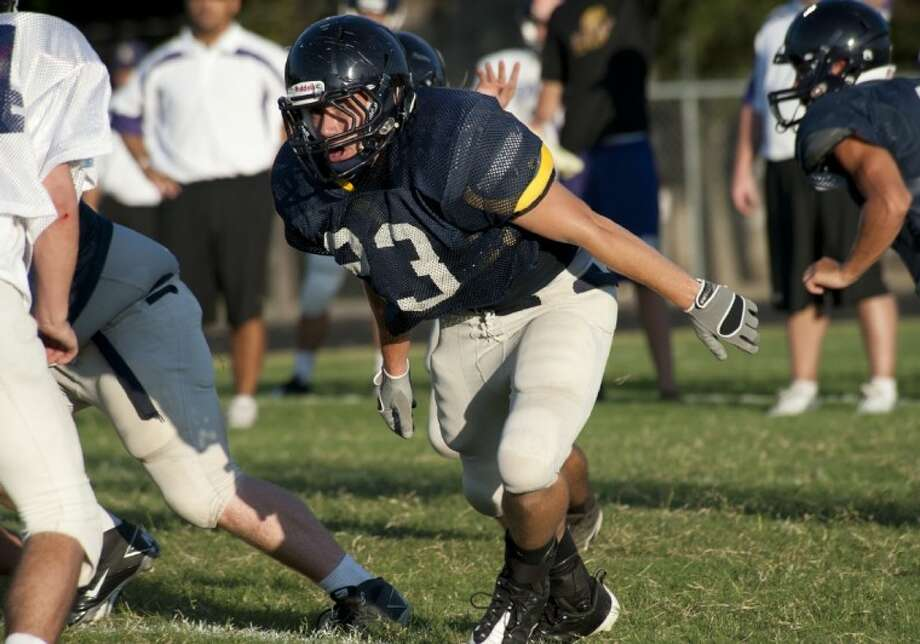 Concordia Lutheran graduate Christian Wilke will play linebacker for the South team in the TPSCA All-Star Game July 23 in Fort Worth. Photo: Edgar Salcedo