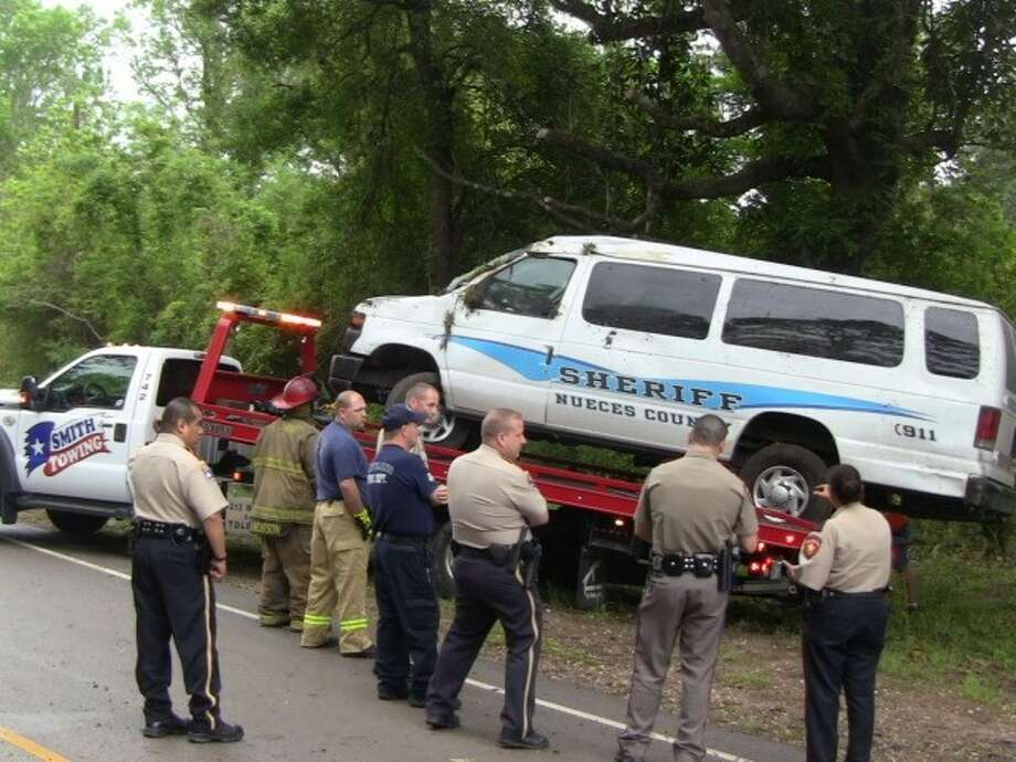 On the morning of April 17, officers and emergency officials responded to an accident call that took place on FM 1725.