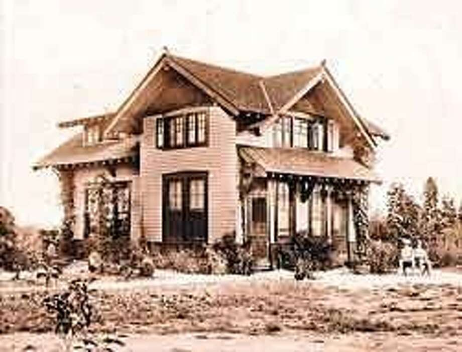 This historic 1910 home built by Edward Teas is a part of Evelyn's Park, which will be dedicated in Bellaire Saturday. Photo: File Photo