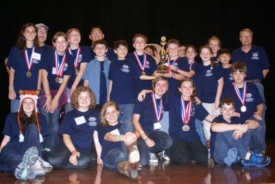 Riverwood Middle School will represent Texas at the national Science Olympiad Tournament in Florida in May.
