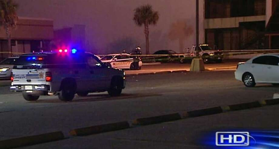 The shooting took place outside of Night Moves, a nightclub located on F.M. 1960 near Red Oak, at approximately 3 a.m. on Monday. (photo courtesy of KTRK-TV, ABC-13)