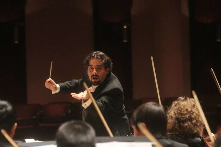 Philharmonia Conductor Michael Alan Isadore (Photo submitted by Houston Youth Symphony)