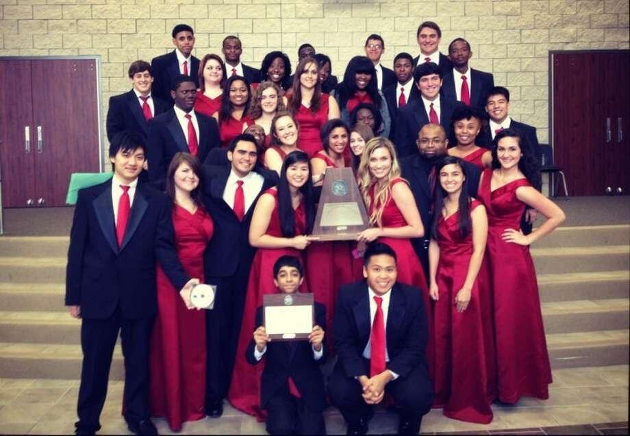 Pictured is Travis High School Varsity Chorale.