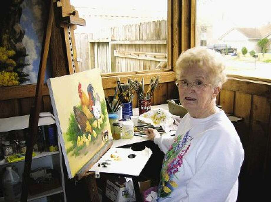 Lena LeMay has enjoyed oil painting for more than 40 years.
