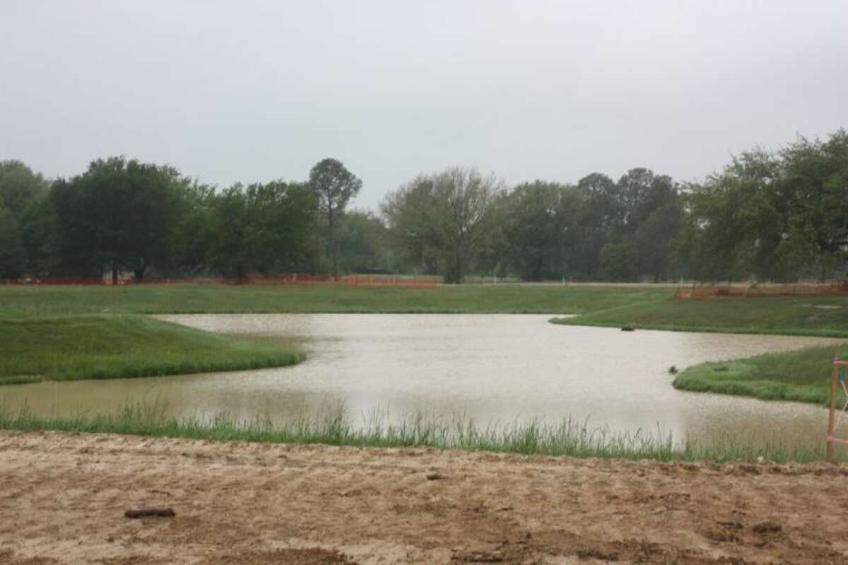 """The future site of master planned community """"Falls at Green Meadows,"""" on the former location of Green Meadows Golf Course."""
