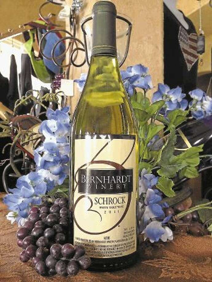 The Schrock is made from the Niagara grape which is a grape native to North America and is found growing in cold regions of the country. Bernhardt winery harvests their grapes for this wine from the mountains of Arkansas. This semi-sweet wine is very crisp and fresh on the pallet and wonderfully aromatic, offering watermelon, honeysuckle and kiwi on the nose. Jerry Bernhardt, owner of Bernhardt Winery, said he named this wine after his wife, Jerri Schrock Bernhardt. They have previously won Bronze and Silver Medals and now Double Gold Medals at the largest wine competition event in North America, the Finger Lakes International Wine Competition, with this outstanding wine. The wine retails for $17 only at the winery near Plantersville, northwest of Houston. / @WireImgId=2621582