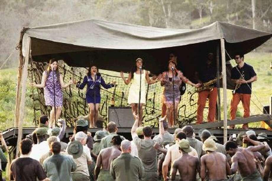 """""""The Sapphires"""" in concert in Vietnam."""