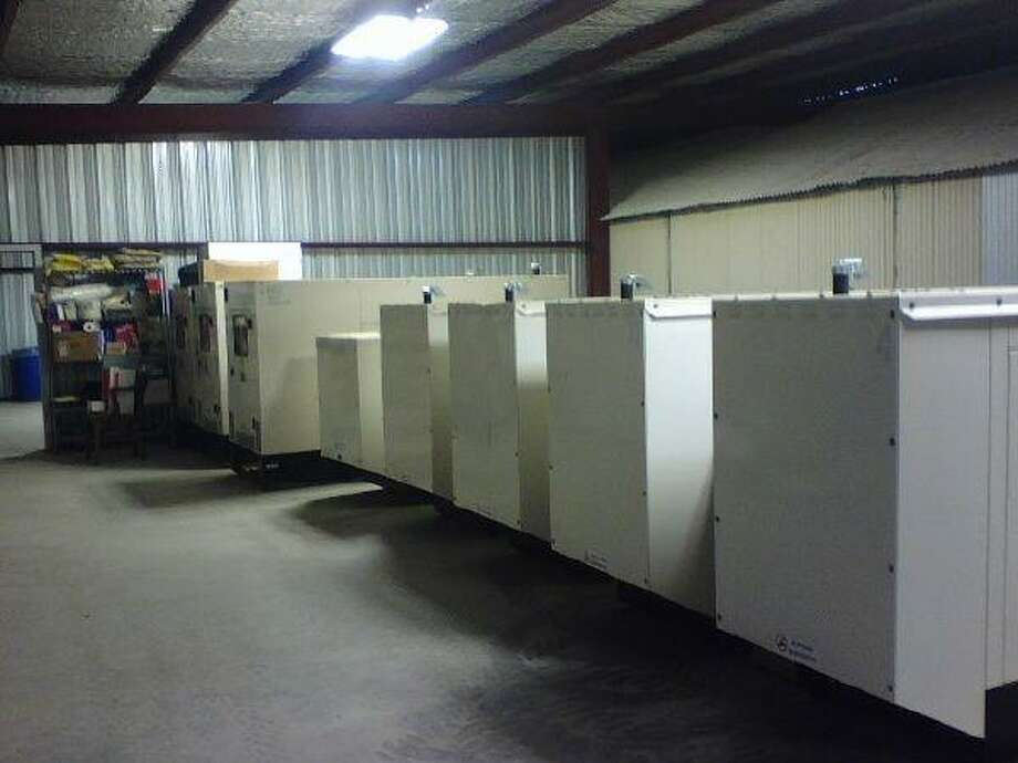 Liberty County has stockpiled 17 generators in preparation for hurricanes and other natural disasters.