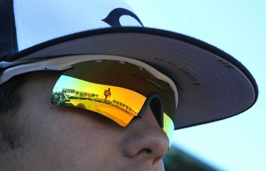 Clements' Daniel Priwin's sunglasses reflect Constellation Field, home of the Skeeters in a 2012 game against Dulles. The Rangers look to return to the playoffs in 2015.