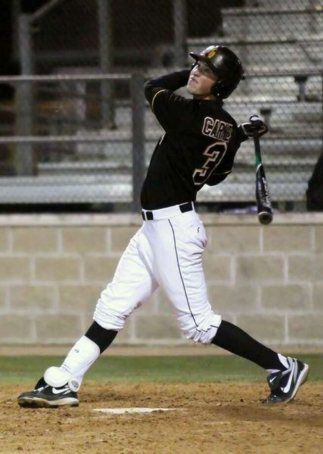 Klein Oak senior Ethan Carnes has been one of the top players for the Panthers this spring. (Photo by kjwesphotos.com)