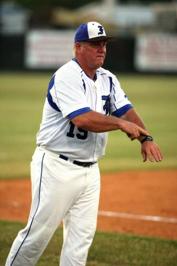 Friendswood baseball coach Charlie Taylor says it's time for his team to start hitting or the Mustangs won't make the playoffs. Photo: KIRK SIDES