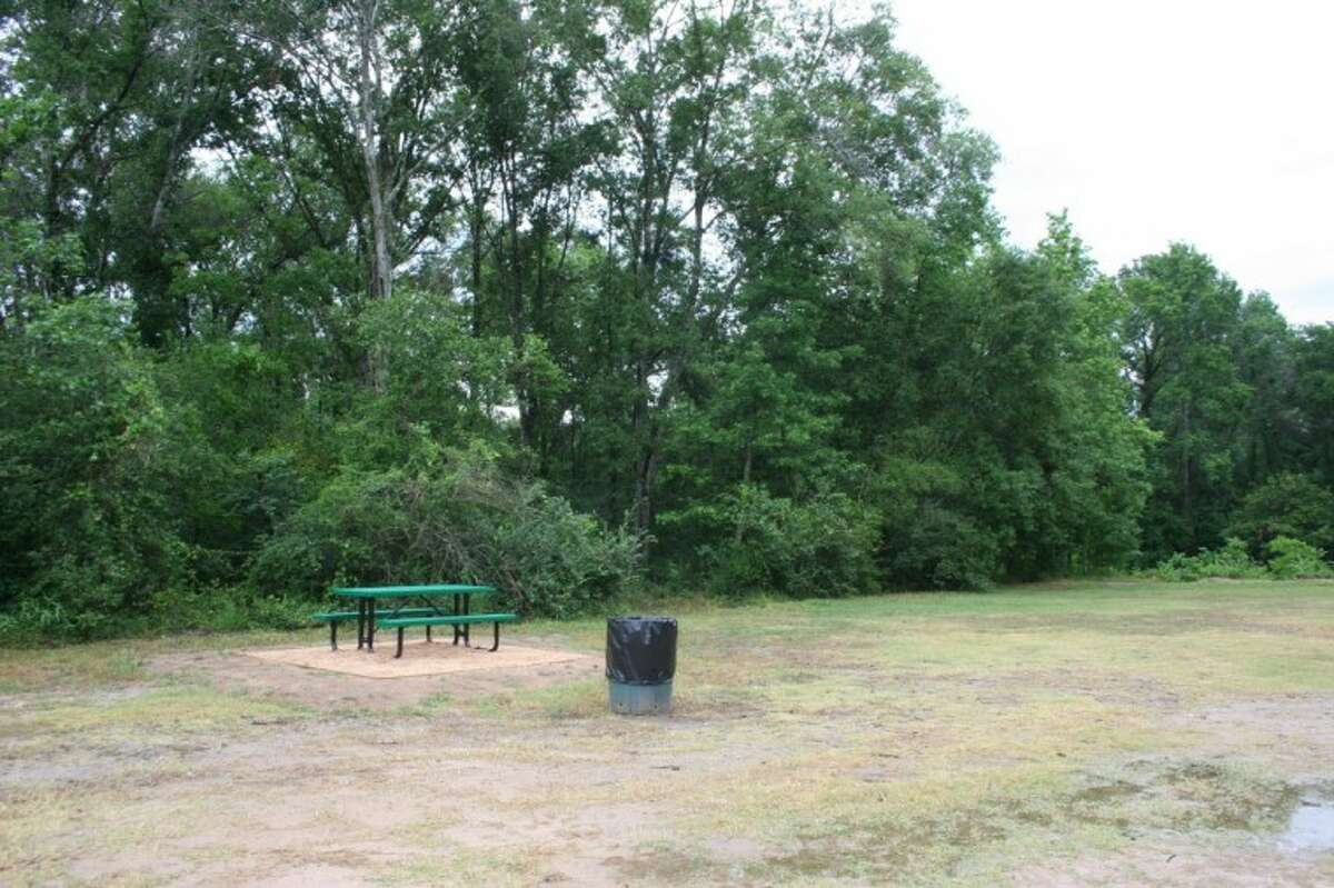 The park also includes picnic tables, trash receptacles and barbecue grills.