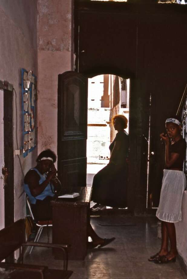"""Photographic Print donated by the Juror, Bert L. Long, Jr.TITLE: """"CUBAN MENTAL ASYLUM"""" 