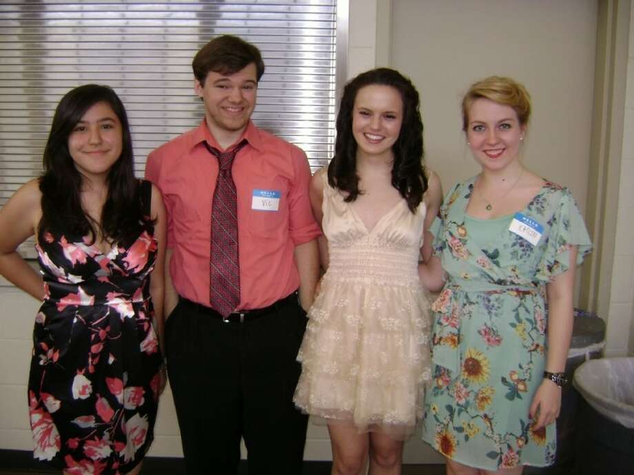 The Woodlands High School Theatre Department's Kristen Conroy, Vic Shuttee, Jessica Trinque and Katlin Newman were nominated for Student of the Year honors in the department.