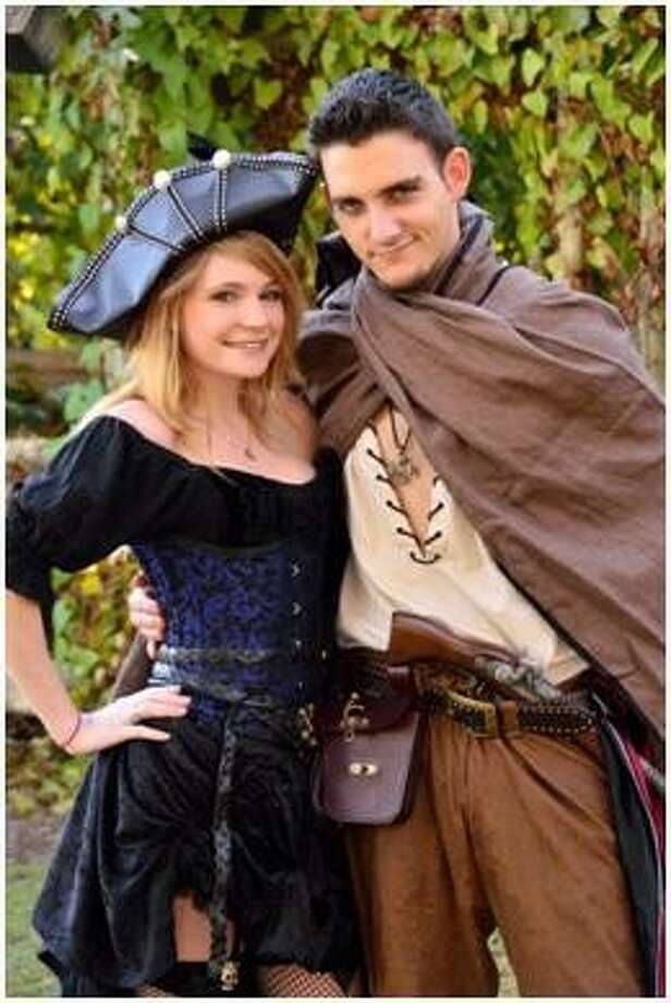 """Emily Ann Preston and Kevin Andrew """"Max"""" McDougall, both 23 and from Kingwood, loved to dress up for the Texas Renaissance Festival. Both were killed by an alleged drunk driver April 14, 2013."""