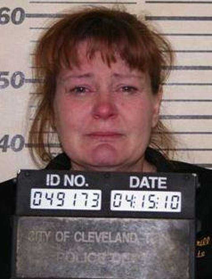 Tammy Lucas after her arrest