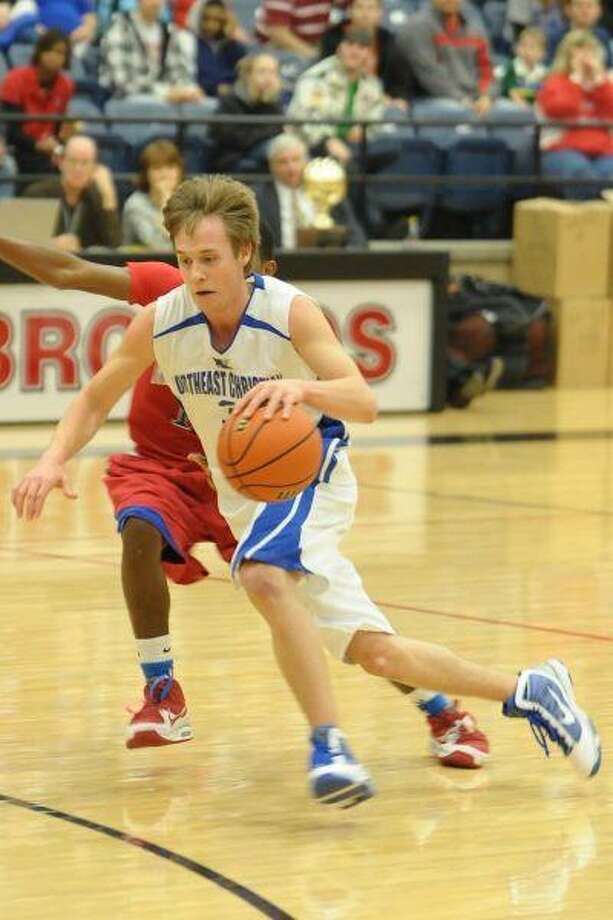 NCA point guard Brandon Trower earned several awards this season, including a spot on the TAPPS All-District first team.