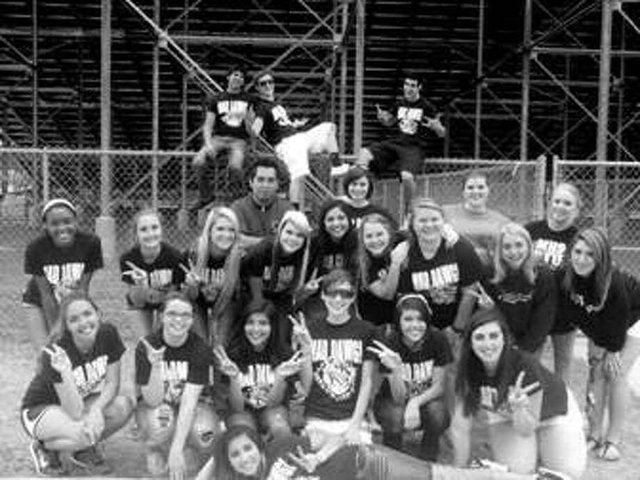 Members of the Magnolia HS Student Council helped with a Special Olympics event held on April 20.