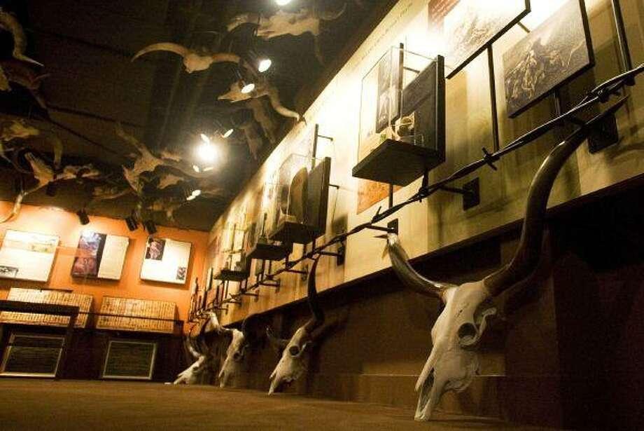 The Butler Longhorn Museum. (photo by Patric Schneider) / Patric Schneider