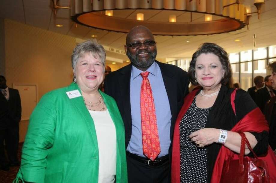 Marilyn L. Brown, Stephen L. Williams and Donna Herron enjoyed celebrating the 30th anniversary of The Coalition for the Homeless of Houston/Harris County. The organization was established in 1982, incorporated as a 501(c)(3) in 1988, and has evolved to be the lead agency coordinating the community response to homelessness in Houston.