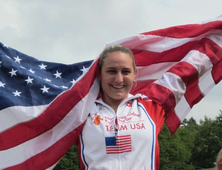 Cleveland resident Amy Smith Smith took home gold for the Unites States in discus, fourth place in ball throw, fourth in javelin and fifth in shot put at the 18th World Transplant Games in Sweden on June 17-24, 2011.