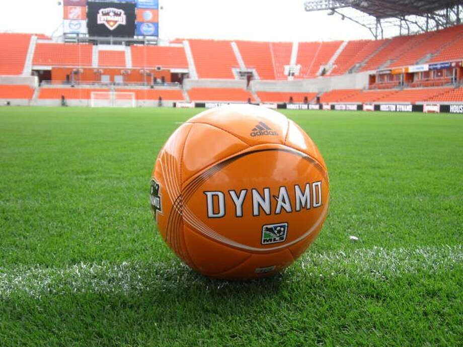 The Houston Dynamo held a ribbon cutting ceremony on Tuesday morning at BBVA Compass Stadium, which will host its first game next Saturday.
