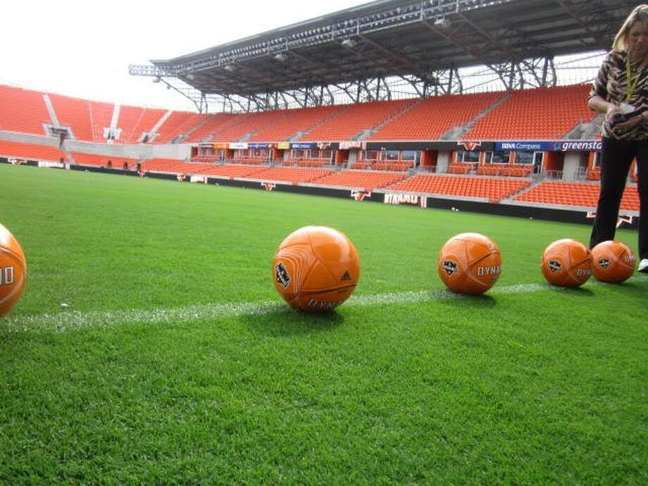 BBVA Compass Stadium seats 22,000 and will host home games for the Houston Dynamo professional soccer team and Texas Southern University football, as well as other special events.