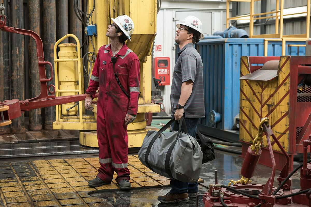 """The movie """"Deepwater Horizon"""" tells the story of the oil rig explosion that started the BP oil spill in 2010."""