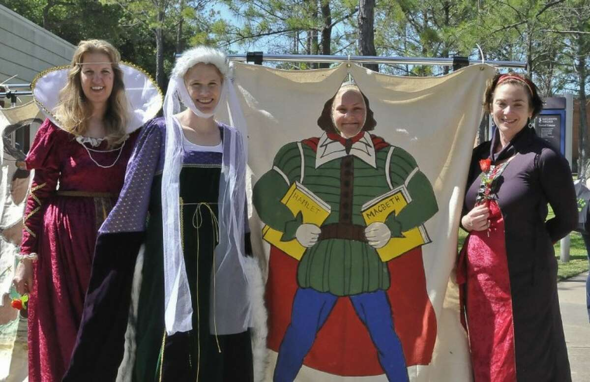 'Bard's Bash' at San Jac celebrates Shakespeare's birthday