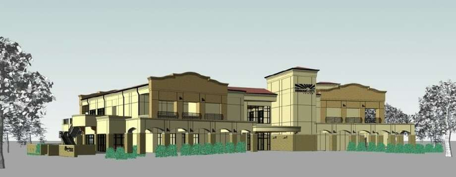 Computer rendering of Quail Valley Golf Course's new Community Center & Golf Pro Shop.