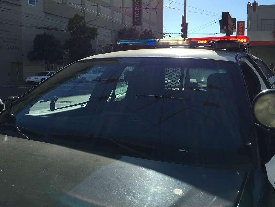 SFPD Police Car Photo: Sarah Ravani / The Chronicle
