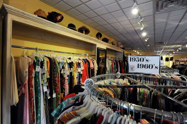 The interior of Chic Jack's NYC Vintage Clothing on Bedford St. in downtown Stamford, Conn. on Tuesday, Sept. 27, 2016.