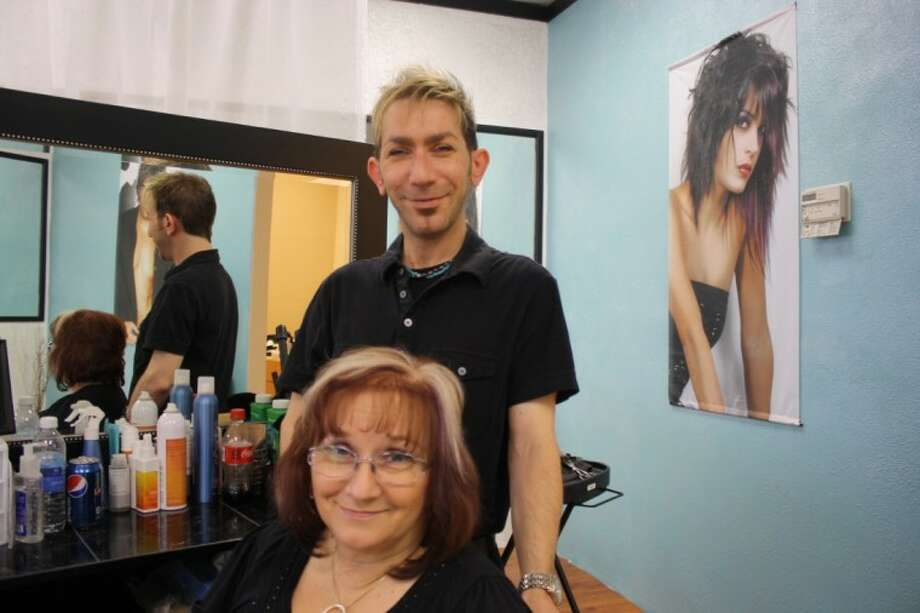 Mother and son team Shirley and Steven Manulak Visions Salon and Spa created with an eye on every detail, and a philosophy that truly placed the customers first. Photo: Y.C. Orozco