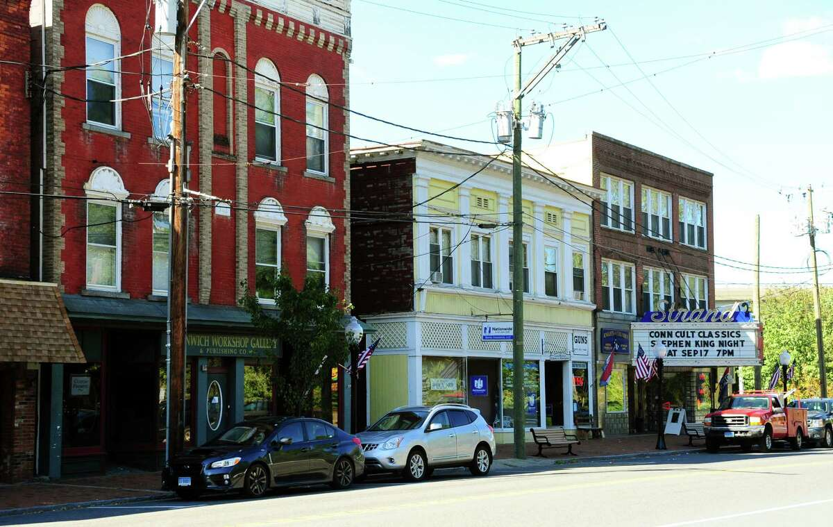 A view of businesses on Main Street in downtown Seymour. The Seymour Board of Selectmen recently voted for the dissolution of the Downtown Action Committee, which was originally put in place to help enhance the downtown area and spur growth in businesses located there.