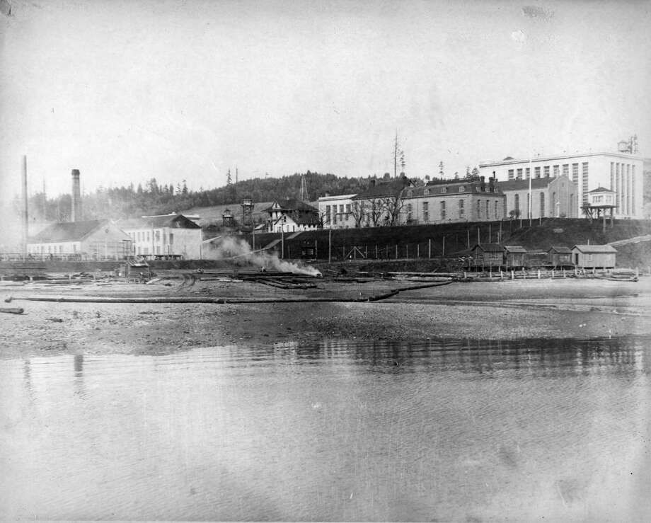 This photo shows the McNeil Island prison sometime between 1920 and 1930. The prison closed in 2011, but a special commitment center, run by Washington's Department of Social and Health Services, remains in operation there for sexually violent criminals, who go there after completing their prison sentences. Photo: Photo Courtesy Washington State Archives