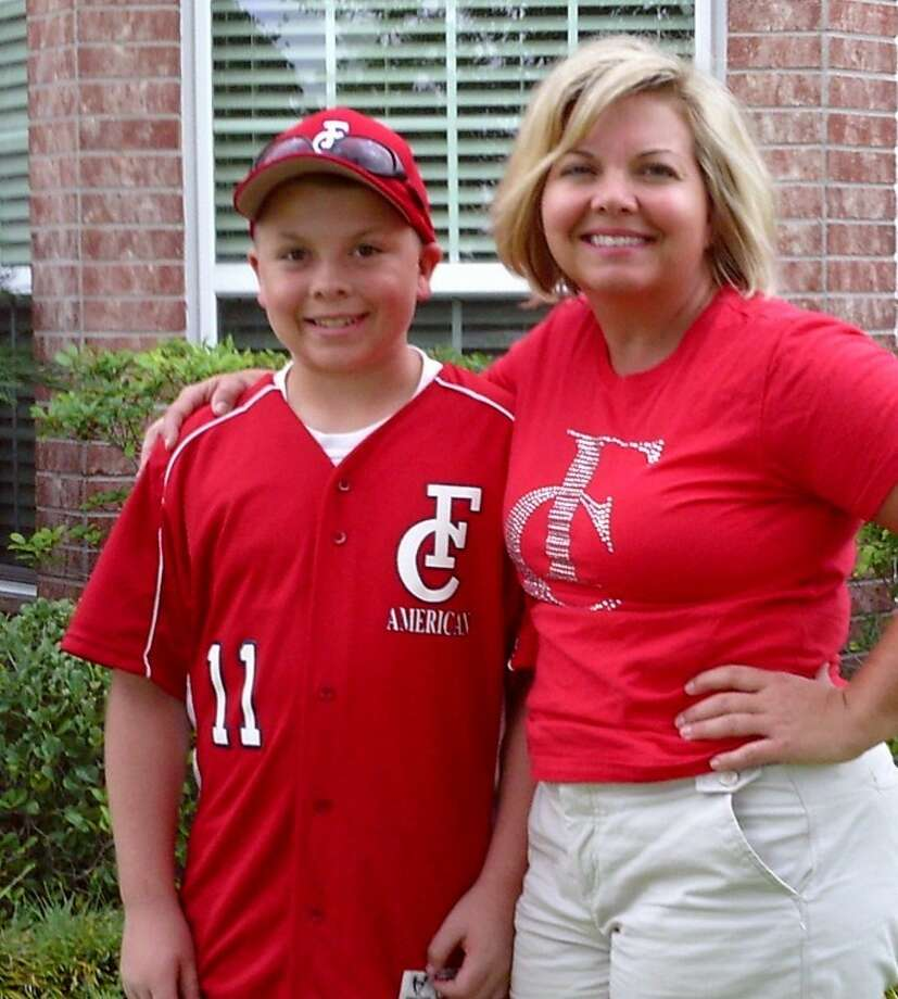 Nancy Hicks missed all but one of her son Payton's Little League games last year because she had cancer. Now cancer-free, Nancy has taken in every swing. She'll watch Payton play in the sectional tournament this week.